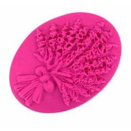 Silikonová forma na mýdlo kytice III.