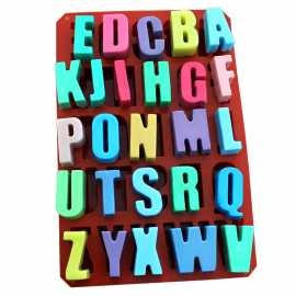 Silikonová forma na mýdlo abeceda