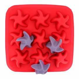 Silikonová forma na mýdlo hvězdice