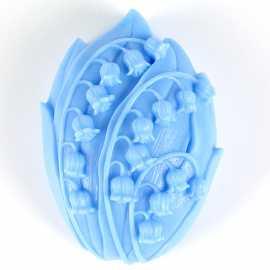 Silikonová forma na mýdlo konvalinka