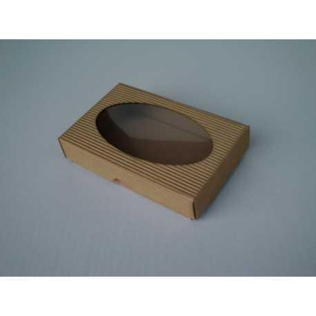 Dárková krabička z vlnité lepenky 15x10x3,5cm