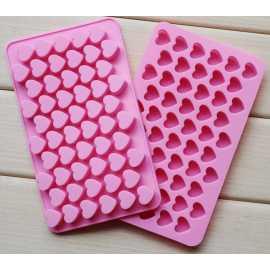 Silikonová forma na mýdlo malá srdíčka