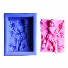 Silikonová forma na mýdlo víla XVII.
