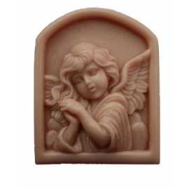 Silikonová forma na mýdlo anděl v okně