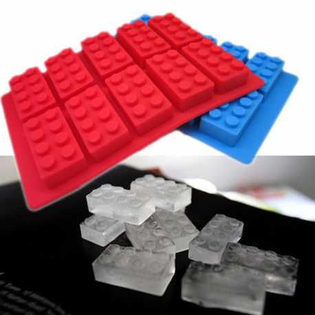 Silikonová forma na mýdlo lego kostky