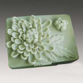 Silikonová forma na mýdlo chryzantéma II.