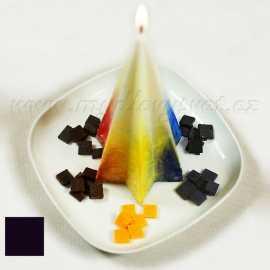 Barva na svíčky - černá 5g
