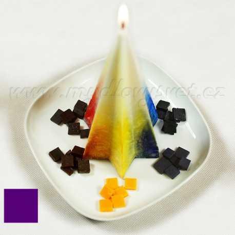 Barva na svíčky - fialová 5g