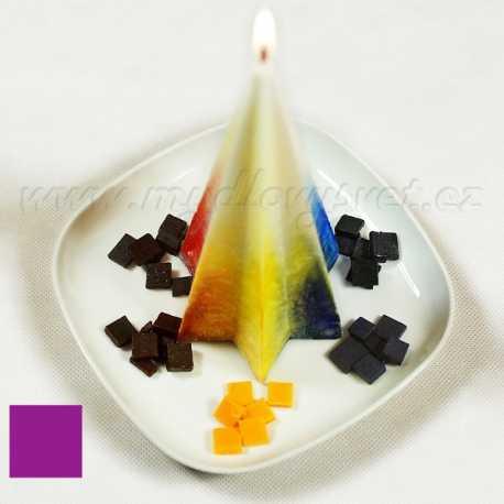 Barva na svíčky - fialová lila 5g