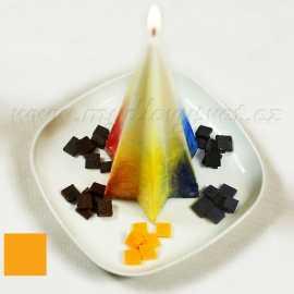 Barva na svíčky - žlutá měsíčková 5g