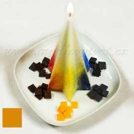 Barva na svíčky - medová 5g