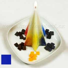 Barva na svíčky - modrá 5g