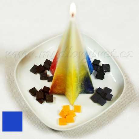 Barva na svíčky - modrá jasná 5g