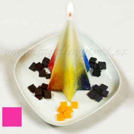 Barva na svíčky - růžová fuchsiová 5g