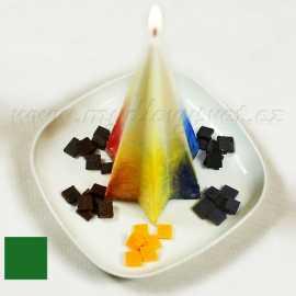 Barva na svíčky - zelená 5g