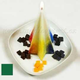 Barva na svíčky - zelená listová 5g