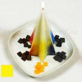 Barva na svíčky - žlutá 5g