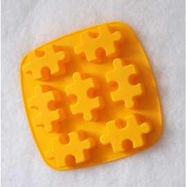Silikonová forma na mýdlo puzzle