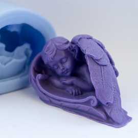 Silikonová forma na mýdlo andělské snění II.