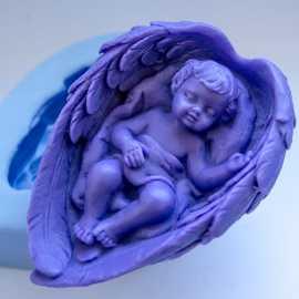 Silikonová forma na mýdlo andělské snění I.