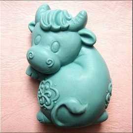Silikonová forma na mýdlo kravička II.