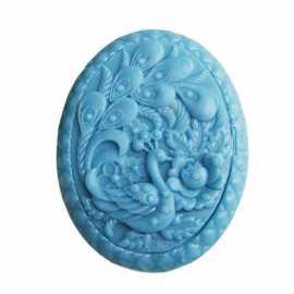 Silikonová forma na mýdlo páv