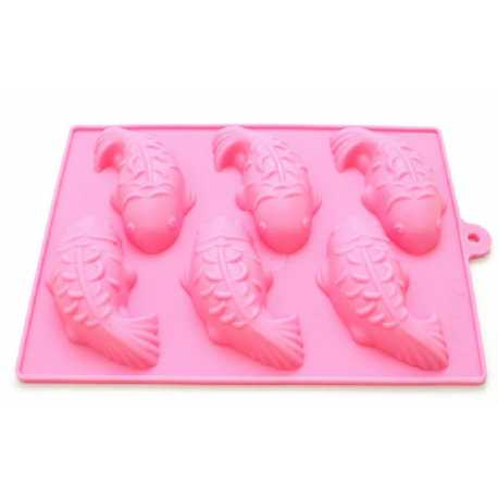 Silikonová forma na mýdlo kapříci