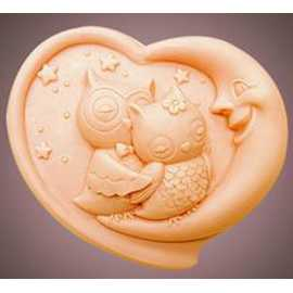 Silikonová forma na mýdlo noční láska