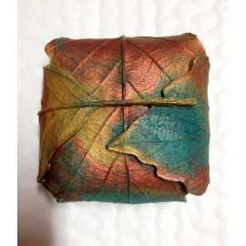 Silikonová forma na mýdlo balíček z listů