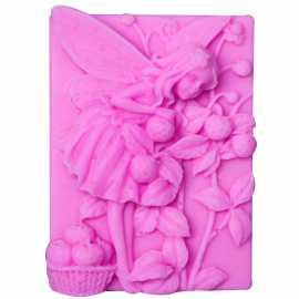 Silikonová forma na mýdlo víla XV.