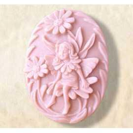 Silikonová forma na mýdlo květinová víla