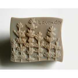 Silikonová forma na mýdlo levandule III.