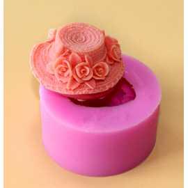 Silikonová forma na mýdlo klobouček