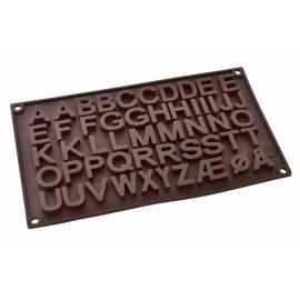 Silikonová forma na mýdlo abeceda II.