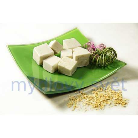 Mýdlová hmota s ovesnými vločkami a bambuckým máslem 1kg