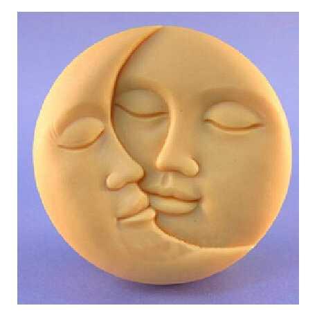 Silikonová forma na mýdlo měsíc