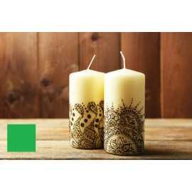 Barva na malování svíček - zelená 5g