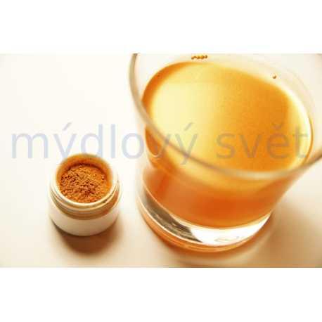 Orientální zlatá barva do kosmetiky 10g