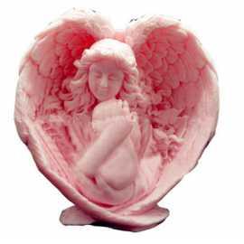 Silikonová forma na mýdlo a svíčku 3D mateřská láska