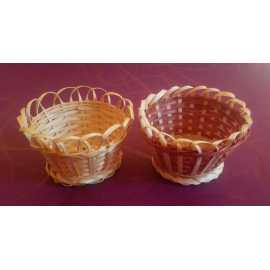 Bambusová miska kruh pr. 10cm