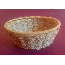 Bambusová miska ovál 16x13x4cm