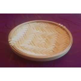 Bambusový tácek kruh pr. 17 cm