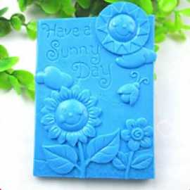Silikonová forma na mýdlo SUNNY DAY