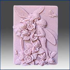 Silikonová forma na mýdlo vílí milenci