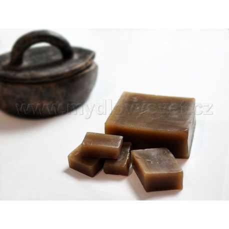 Mýdlová hmota s africkým černým mýdlem 1kg