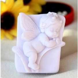 Silikonová forma na mýdlo vílí miminko