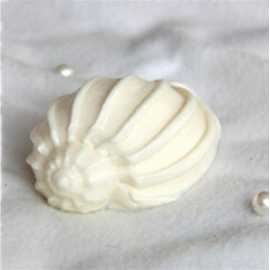 Silikonová forma na mýdlo a svíčku mušle V.