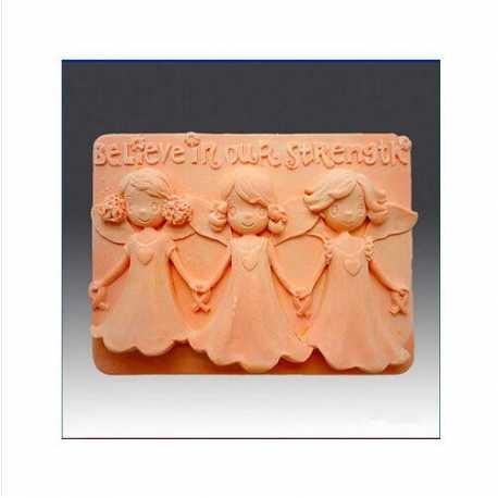 Silikonová forma na mýdlo BELIEVE IN YOUR STRENGTH