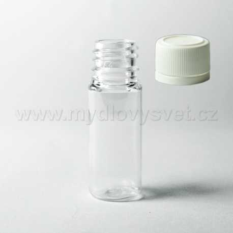 PET lahvička 10 ml + uzávěr G18