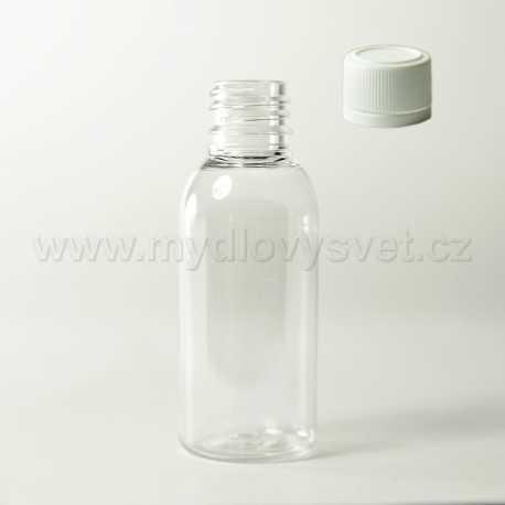 PET lahvička 50 ml + uzávěr G18